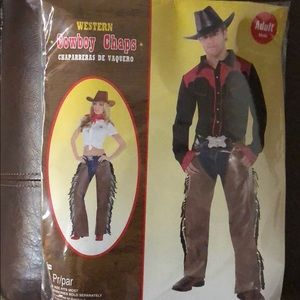 Cowboy Chaps for Costume